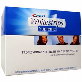 crest whitestrips supreme professional strength deal crest whitestrips supreme professional