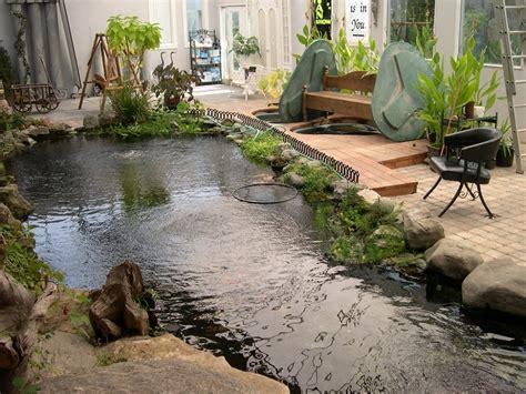 indoor ponds 10 cool indoor pond design ideas picture koi fish pond