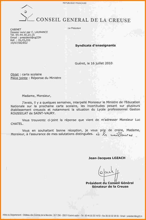 Exemple De Lettre De Demission Legitime Lettre De Demission Scolaire Mod 232 Le De Lettre