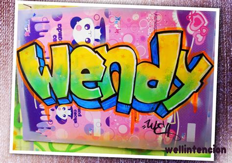 imagenes que digan wendy graffitis wendy