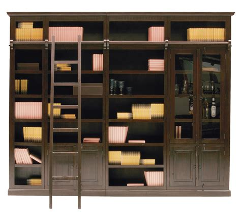 mdf bookcase cabana wooden bookcase by kare design