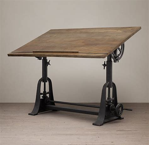 restoration hardware drafting table 25 best ideas about drafting tables on wood