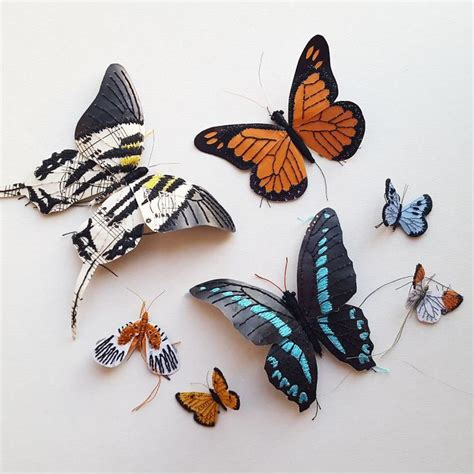 i create bugs butterflies and insects using recycled