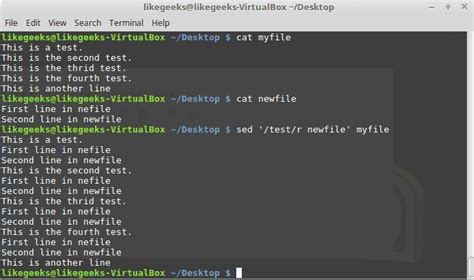 pattern matching with sed 31 exles for sed linux command in text manipulation