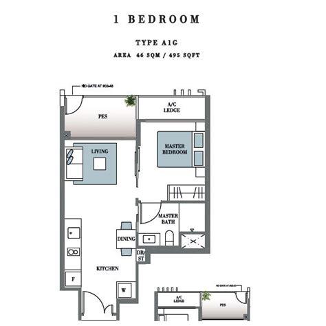 1 bedroom condo floor plans botanique bartley floorplan 1 bedroom new launch condo