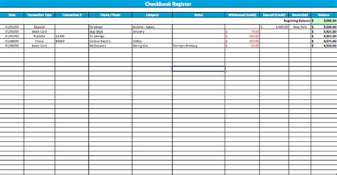 Numbers Check Register Template large checkbook register template for numbers free iwork