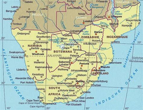 lafrica mappa carta stradale