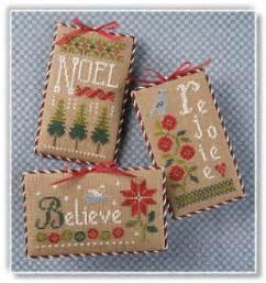 lizzie kate s105 christmas ornaments cross stitch patterns