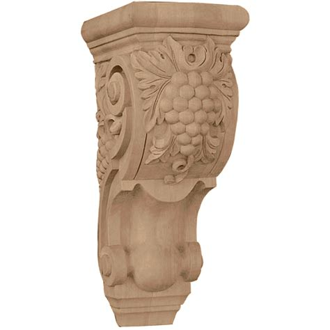 Grape Corbels grape corbels architectural millwork wood corbels