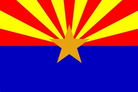 free coloring pages of arizona flag