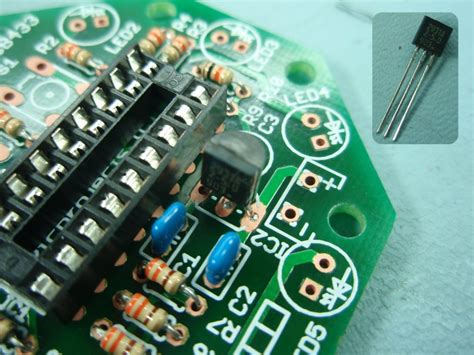 pwm led chaser with variable speed control pwm led chaser with variable speed control