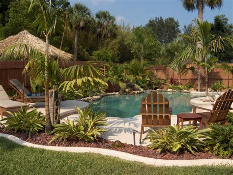 Tropical Backyards by 100 Spectacular Backyard Swimming Pool Designs Tropical