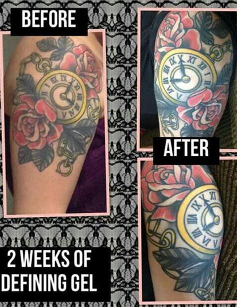 defining skin tattoo best 25 it works defining gel ideas on
