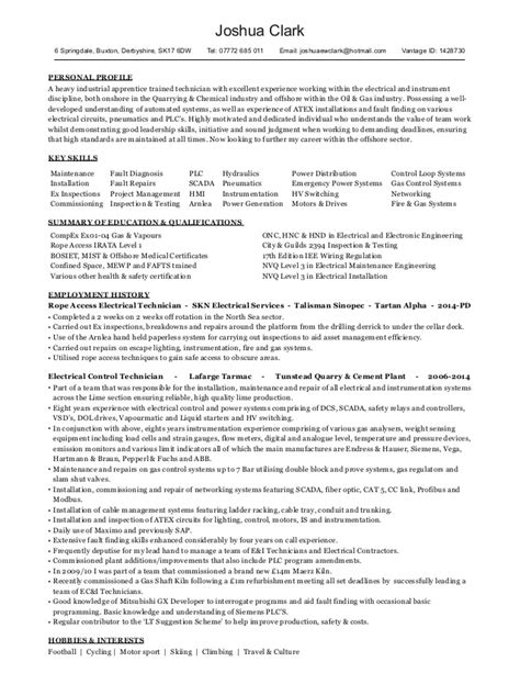 Exles Of Resumes For Industrial
