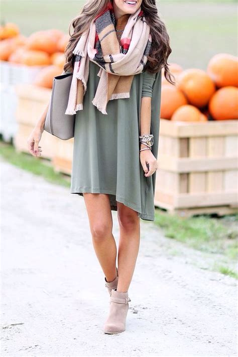 fall dresses with boots 27 chic fall with ankle boots styleoholic