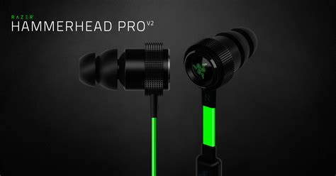 Razer Hammerhead Pro V2 razer hammerhead pro v2 in ear headphones with mic and in line remote