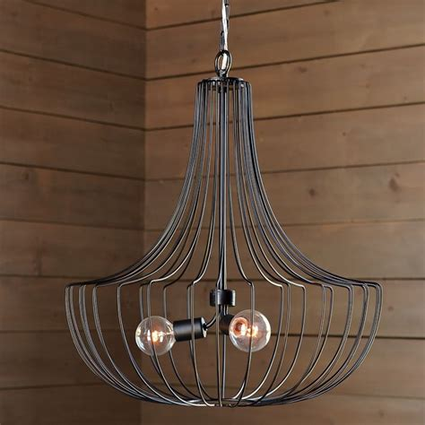 West Elm Pendant Light Large Wire Pendant West Elm Furniture Lighting