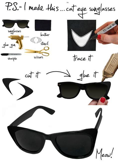 How To Make Paper Glasses For - ojos de gata y un diy loquevenmisojos