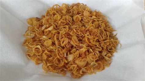 bawang merah goreng  tepungfried shallots youtube