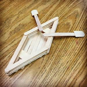 popsicle stick crafts popsicle stick canoe projects for