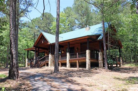 Bend Cabins by White Waters Secluded Beavers Bend Cabin On 40