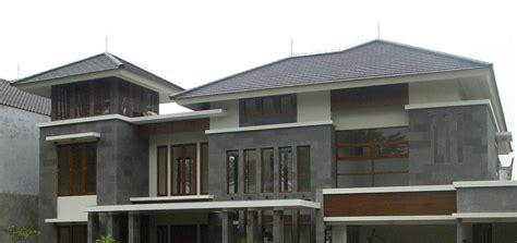 Batu Bakar Modern material batu alam untuk tak depan rumah minimalis yang elegan arsitag