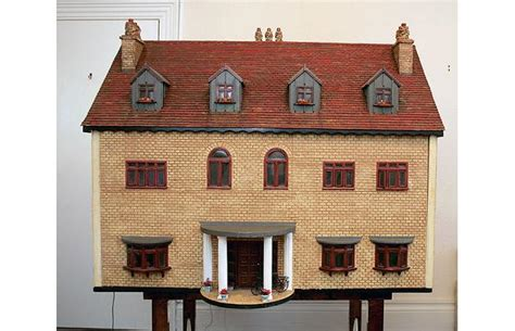 how to make dolls house roof tiles a doll house from uk fetches 82 000 luxuo