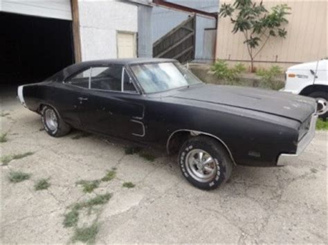 Sell new 1969 Dodge Charger R/T Project Car Real RT 440 A