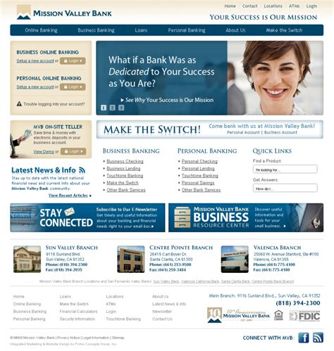bank website design who says bank website design and development has to be