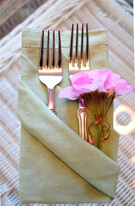Paper Napkin Folding Ideas For Weddings - wedding napkins 101