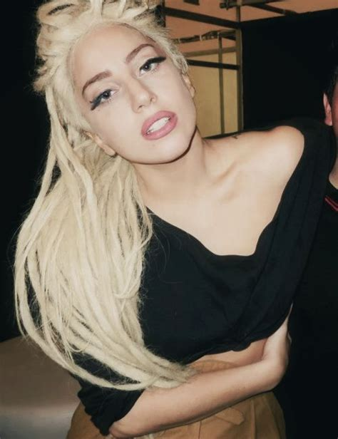 illusion of dreads styles white 146 best images about lady fucking gaga on pinterest