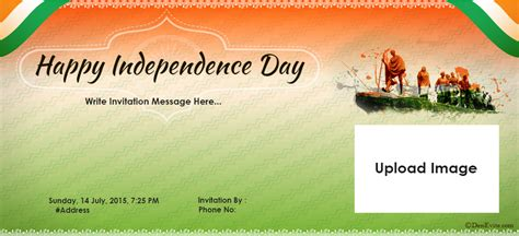 Invitation Letter Format Independence Day Free Independence Day Invitation Card Invitations