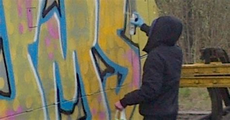 spray painter liverpool graffiti crew attacked merseyrail trains in 163 123 000 spray