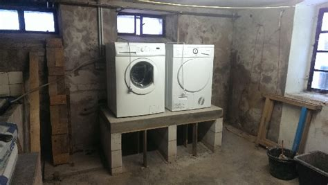 waschmaschine und trockner übereinander stellen podest f 252 r waschmaschine und trockner teil 5 werklich