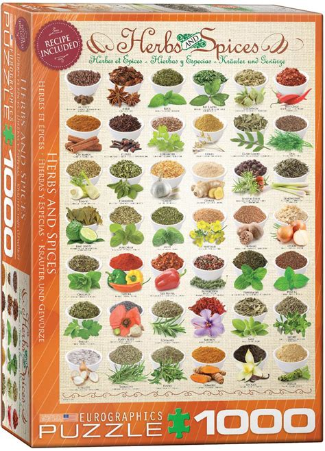 herbs spices jigsaw puzzles  eurographics