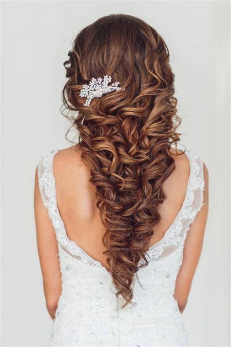 Brautfrisur Lange Haare Offen by 1001 Ideen F 252 R Brautfrisuren Offen Halboffen Oder
