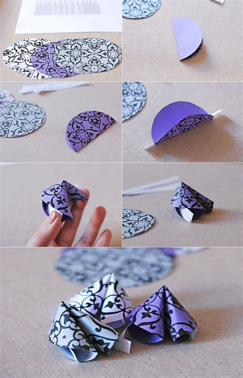 Fortune Cookie Origami - 25 unique fortune cookie ideas on free
