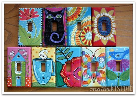 painted light switch covers best 25 switch plates ideas on light switch