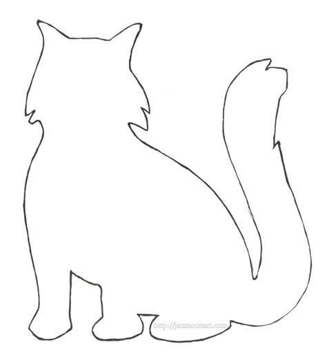cat template doll house coloring book coloring coloring pages