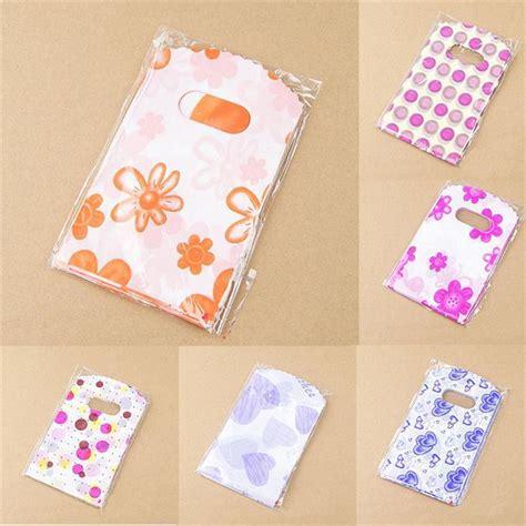 pretty pattern gifts 100pcs lot pretty mixed pattern plastic gift bag shopping