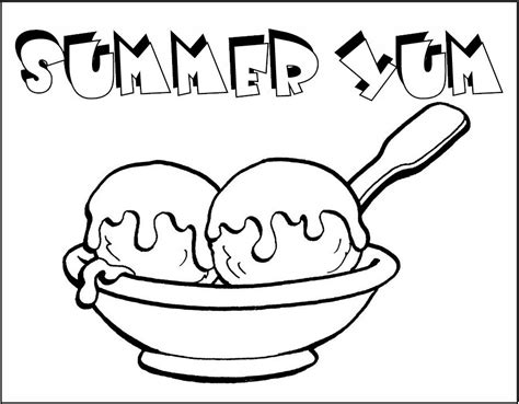 ice cream sundae printable coloring pages best photos of ice cream sundae printables ice cream