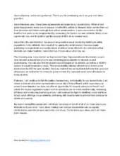 Presidential Speech Outline by School Speech Writing