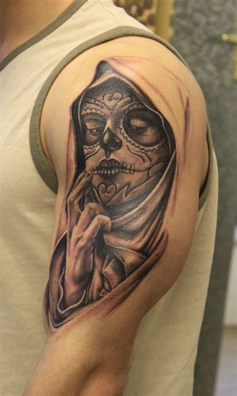 day of the dead face tattoo day of the dead tattoos designs ideas and meaning