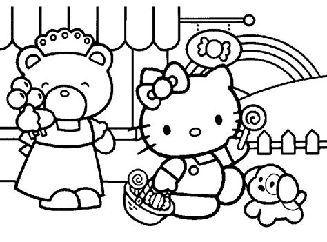 happy hellokitty coloring pages gt gt disney coloring pages