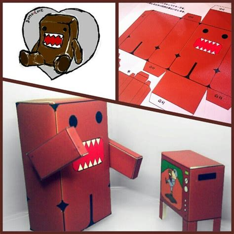 Domo Papercraft - domo papercraft 28 images domo kun cubeecraft by