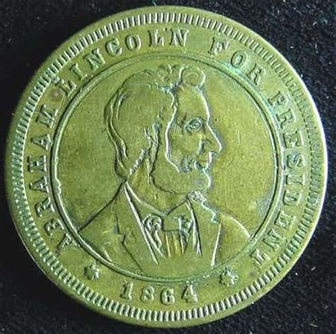 life of abraham lincoln gold coin details about 1864 abraham lincoln for president