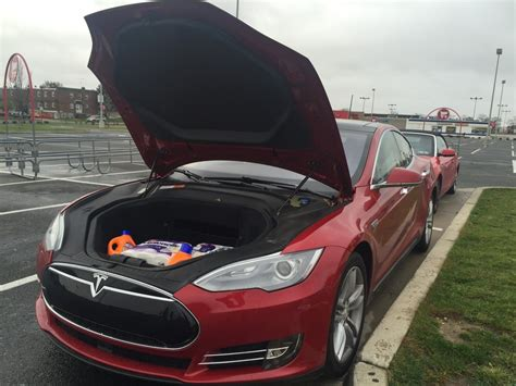 tesla model s frunk using the tesla frunk for everyday errands