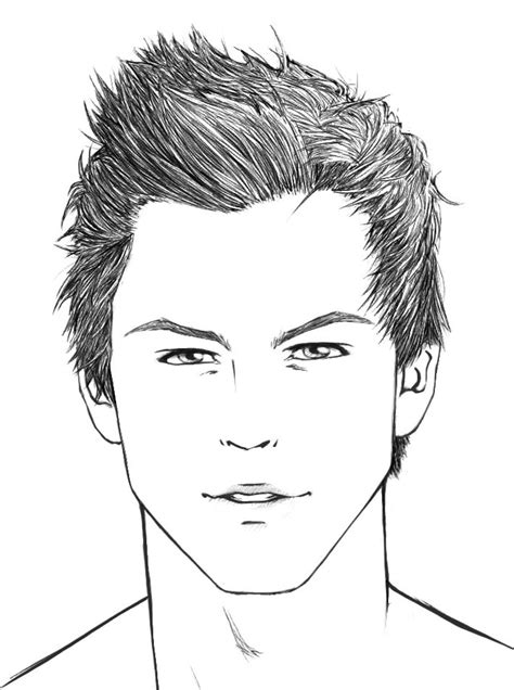 how to draw hair male sharenoesis