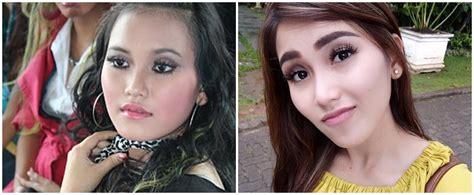 Model Rambut Zaskia Gotik Sekarang by Beda Banget 10 Foto Penyanyi Dangdut Indonesia Dulu Vs