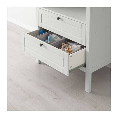 Sundvik Changing Table Chest Of Drawers White Ikea Baby Changing Table Dresser Ikea